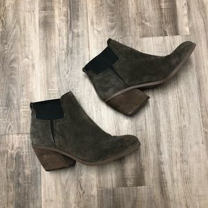 GUESS Olive Suede Booties